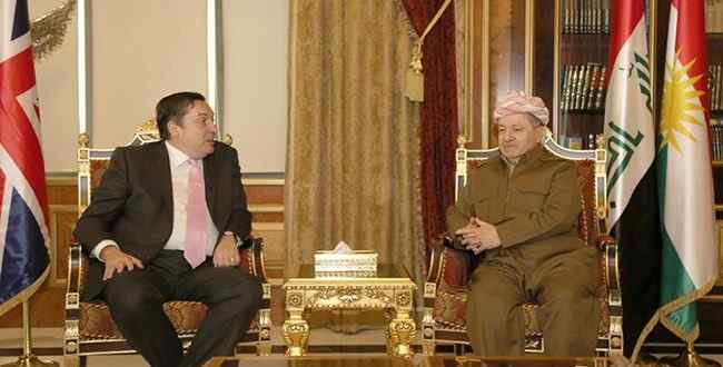 Barzani discusses with the problems of Barghani between Erbil and Baghdad and the implementation of Article 140 %D8%A8%D8%A7%D8%B1%D8%B2%D8%A7%D9%86%D9%8A-%D9%88%D8%A7%D9%84%D8%B3%D9%81%D9%8A%D8%B1-%D8%A7%D9%84%D8%A8%D8%B1%D8%B7%D8%A7%D9%86%D9%8A-650x330