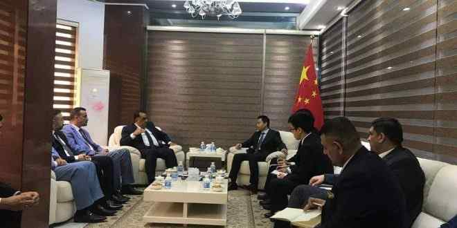 Baghdad Chamber of Commerce and the Chinese embassy are looking to upgrade the business sector Received_742174192826402-660x330