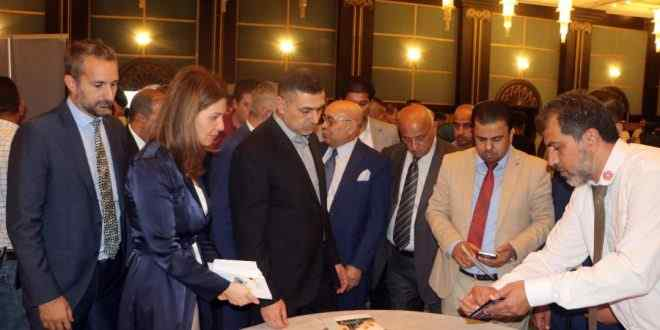 """With the participation of Iraqi and German businessmen and businessmen """"The opening of the German catalogs exhibition in Basra IMG-20190906-WA0022-660x330"""